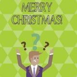 Εννοιολογικό χέρι που γράφει παρουσιάζοντας Χαρούμενα Χριστούγεννα Εορτασμός Δεκέμβριος περιόδου διακοπών επίδειξης επιχειρησιακώ ελεύθερη απεικόνιση δικαιώματος