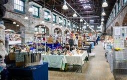 Εσωτερική αγορά Tavistock - αρχαία αγορά Pannier - που λαμβάνεται σε Tavistock, Devon, UK στοκ εικόνες με δικαίωμα ελεύθερης χρήσης