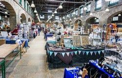 Εσωτερική αγορά Tavistock - αρχαία αγορά Pannier - που λαμβάνεται σε Tavistock, Devon, UK στοκ φωτογραφίες με δικαίωμα ελεύθερης χρήσης