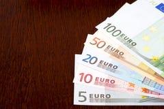 Ευρωπαϊκά χρήματα, ένα bacground στοκ φωτογραφίες με δικαίωμα ελεύθερης χρήσης