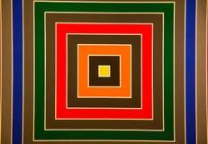 ζωηρόχρωμα τετράγωνα ανασκόπησης στοκ εικόνα με δικαίωμα ελεύθερης χρήσης