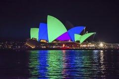 Ζωηρό φεστιβάλ, Σίδνεϊ, Αυστραλία στοκ εικόνα με δικαίωμα ελεύθερης χρήσης