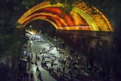 Ζωηρό φεστιβάλ, Σίδνεϊ, Αυστραλία στοκ εικόνες
