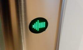 Ηλεκτρονικά σημάδια στην είσοδο για την ασφάλεια στοκ φωτογραφίες