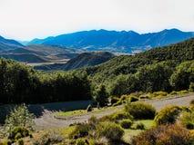 Η άποψη από το πεζοπορώ τοποθετεί επάνω Cheeseman, νότιο νησί, Νέα Ζηλανδία στοκ εικόνες με δικαίωμα ελεύθερης χρήσης