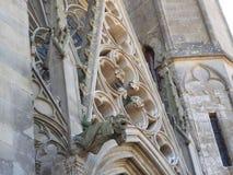 Η αρχαία πόλη του Carcassonne που βρίσκεται στη Γαλλία στοκ εικόνα