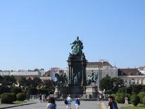 Η Βιέννη είναι η ομοσπονδιακή κύρια και μεγαλύτερη πόλη της Αυστρίας Αυτοκράτειρα Μαρία Theresia Monument στοκ φωτογραφίες