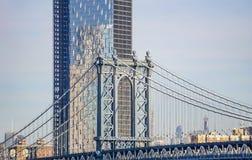 Η γέφυρα του Μανχάταν στην πόλη της Νέας Υόρκης, Νέα Υόρκη ΗΠΑ στοκ φωτογραφία με δικαίωμα ελεύθερης χρήσης