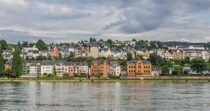 Η θαυμάσια παλαιά πόλη Koblenz στοκ εικόνα