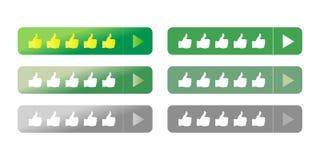 Η κινητή απαντητική ταξινόμηση ιστοχώρου ανατροφοδοτεί το διανυσματικό κουμπί απεικόνιση αποθεμάτων