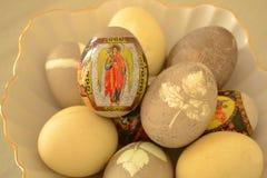 Η Κυριακή Πάσχας, αυγά Πάσχας στοκ φωτογραφία με δικαίωμα ελεύθερης χρήσης