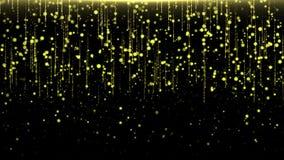 Η λάμποντας βροχή ακτινοβολεί, φωτεινά χρώματα νέου απεικόνιση αποθεμάτων