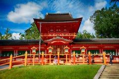 Η λάρνακα Taisha Shinto Kasuga, Νάρα, Ιαπωνία στοκ εικόνα