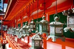 Η λάρνακα Taisha Shinto Kasuga, Νάρα, Ιαπωνία στοκ φωτογραφίες με δικαίωμα ελεύθερης χρήσης