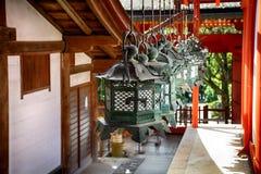 Η λάρνακα Taisha Shinto Kasuga, Νάρα, Ιαπωνία στοκ εικόνες με δικαίωμα ελεύθερης χρήσης