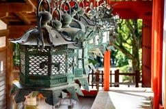 Η λάρνακα Taisha Shinto Kasuga, Νάρα, Ιαπωνία στοκ φωτογραφία με δικαίωμα ελεύθερης χρήσης