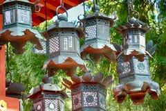 Η λάρνακα Taisha Shinto Kasuga, Νάρα, Ιαπωνία στοκ φωτογραφίες