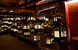 Η λάρνακα Taisha Shinto Kasuga, Νάρα, Ιαπωνία στοκ εικόνες