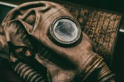 Η μάσκα αερίου στοκ εικόνες
