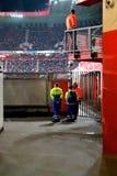 Η μιά φορά αρχαιότερη ομάδα FC Twente ποδοσφαίρου τμήματος κέρδισε το παιχνίδι της ενάντια σε FC Volendam στο 15ο του Μαρτίου στοκ εικόνες