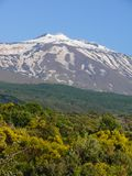Η σύνοδος κορυφής του υποστηρίγματος Etna στοκ εικόνες
