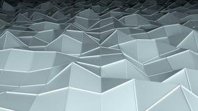 Η χαμηλή polygonal επιφάνεια, παραγμένο υπολογιστής σύγχρονο αφηρημένο υπόβαθρο, τρισδιάστατο δίνει διανυσματική απεικόνιση
