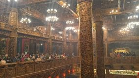"""Η πρώτη ημέρα του πρώτου μήνα είναι """"Tian Gong Sheng """" στοκ εικόνα"""