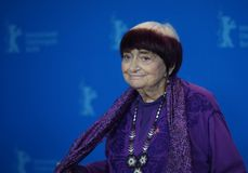 Agnes Varda attends the `Varda By Agnes