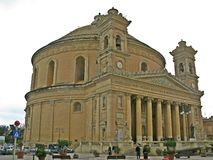 Θόλος Mosta, Μάλτα στοκ φωτογραφία με δικαίωμα ελεύθερης χρήσης