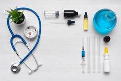 Ιατρική φαρμακείο φαρμακολογία στοκ εικόνες