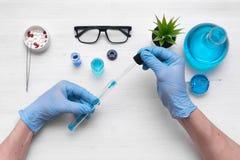 ιατρικό optometrist ματιών διαγραμμάτων ανασκόπησης φαρμακείο φαρμακολογία στοκ εικόνες