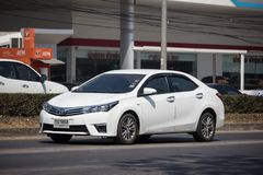 Ιδιωτικό αυτοκίνητο, Toyota Corolla Altis Ενδέκατη γενεά στοκ φωτογραφίες με δικαίωμα ελεύθερης χρήσης