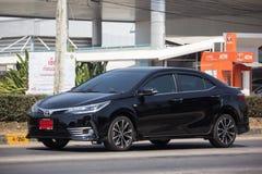 Ιδιωτικό αυτοκίνητο, Toyota Corolla Altis Ενδέκατη γενεά στοκ εικόνα με δικαίωμα ελεύθερης χρήσης
