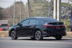 Ιδιωτικό αυτοκίνητο, Toyota Corolla Altis Ενδέκατη γενεά στοκ εικόνες με δικαίωμα ελεύθερης χρήσης