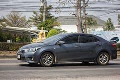 Ιδιωτικό αυτοκίνητο, Toyota Corolla Altis Ενδέκατη γενεά στοκ φωτογραφία