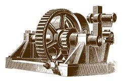 Ιστορικός ανυψωτής για μια μηχανή σφυριών πτώσης απεικόνιση αποθεμάτων
