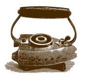 Ιστορικός σίδηρος με τη στάση απεικόνιση αποθεμάτων