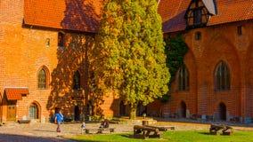 Ιστορικό κέντρο της Κρακοβίας - της Πολωνίας ` s, μια πόλη με την αρχαία αρχιτεκτονική στοκ φωτογραφίες