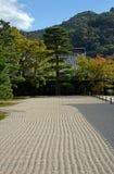 Κήπος του βουδιστικού ναού Tenryu, Κιότο, Ιαπωνία στοκ εικόνες με δικαίωμα ελεύθερης χρήσης
