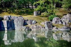 Κήπος παλατιών Nijo, Κιότο, Ιαπωνία στοκ φωτογραφίες