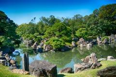 Κήπος παλατιών Nijo, Κιότο, Ιαπωνία στοκ φωτογραφία με δικαίωμα ελεύθερης χρήσης