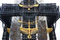 Κίεβο, Ουκρανία Μνημείο του μνημείου στα θύματα Holodomor στοκ εικόνες με δικαίωμα ελεύθερης χρήσης