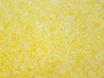 Κίτρινη τέχνη ζωγραφικής σχεδίων υποβάθρου, ύφασμα, γραφικό στοκ εικόνα
