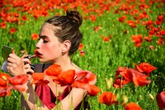 Καλλυντικά και makeup, skincare στοκ φωτογραφία με δικαίωμα ελεύθερης χρήσης