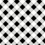 Καρό υλοτόμων Σκωτσέζικο σχέδιο στο άσπρο και μαύρο κλουβί Σκωτσέζικο κλουβί Έλεγχος Buffalo Παραδοσιακή σκωτσέζικη διακόσμηση ελεύθερη απεικόνιση δικαιώματος