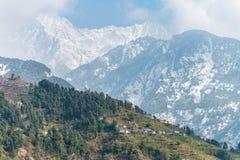Κατοικίες βουνών της Ινδίας στοκ φωτογραφία