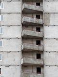 Κατοικημένο νέο σπίτι οικοδόμηση νέα Multi-storey κατοικημένος σύνθετος στοκ εικόνες