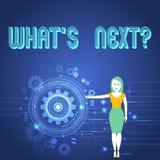 Κείμενο γραφής ποιο S Nextquestion Έννοια που σημαίνει μετά από την καθοδήγηση βημάτων για να συνεχίσει ή απεικόνιση αποθεμάτων