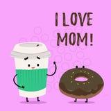 Κείμενο γραφής που γράφει την αγάπη Mom Ι Έννοια που σημαίνει τα καλά συναισθήματα για την ευτυχία αγάπης αγάπης μητέρων μου απεικόνιση αποθεμάτων