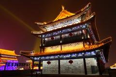 2019 κινεζικό νέο έτος σε Xian στοκ φωτογραφία